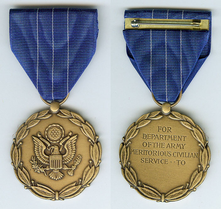 Civilian service award for Air force decoration for exceptional civilian service